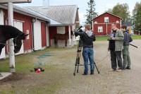 mediakurssin kuvauspäivä